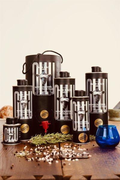Natives Olivenöl Extra - OLLU-Coratina/Pibireddu - 100/250/500/750/1000/3000 ml