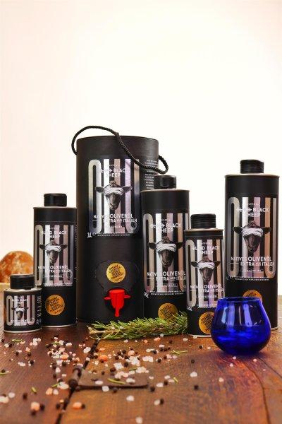 Natives Olivenöl Extra - OLLU - Bosana/Coratina/Nera di Oliena/Pibireddu - 100/250/500/750/1000/3000 ml